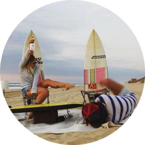 Kelly Says Surf - Hannah Bristow and Dannie MacLennan