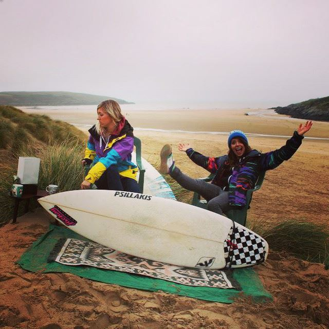 Kelly Says Surf - Hannah Bristow and Dannie MacLennan - Blog Launch!