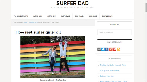 How Real Surfer Girls Roll - Hannah and Dannie Kelly Says Surf