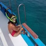 Dannie Snorkelling Maldives